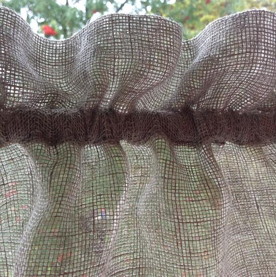 Wabi Sabi biancheria porta tende mantovane Gray cucina rustica della tela  da imballaggio Country Cafe tende pannelli Handmade lino tende