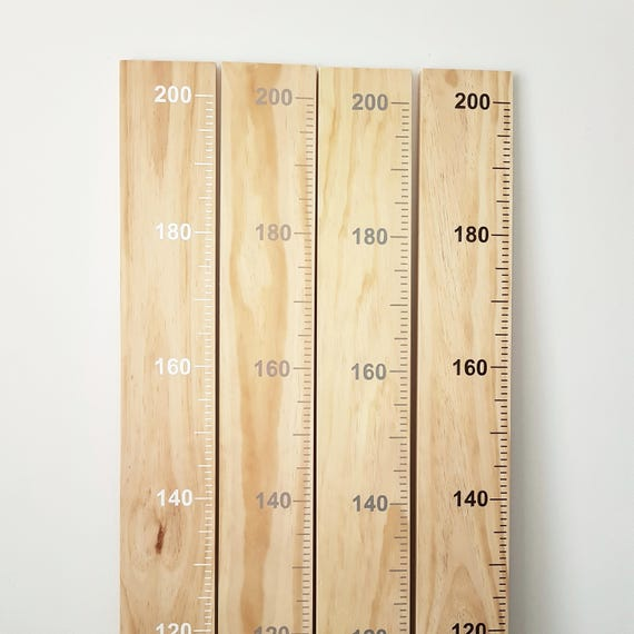 Timber Giant Ruler Growth Chart Keepsake Family Heirloom Track Etsy