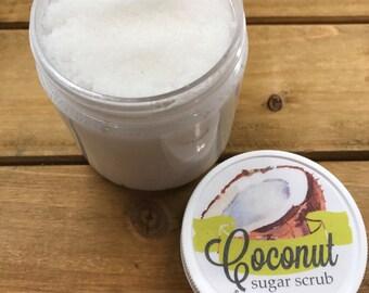 77fc12a4a94 Homemade Coconut Sugar Scrub: Lake Life Candle Co. & scrub.a.dub.dub. Made  in WI