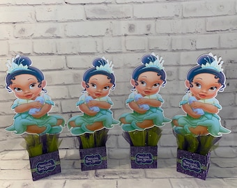 Baby Princess Centerpieces Party Favors (Priced Each)