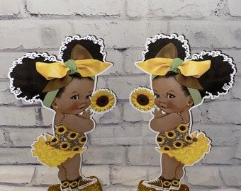 Baby Sunflower Centerpiece