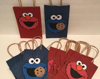 Sesame Street Favor Bag