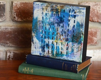 Stories - Original Encaustic Painting, Encaustic Art