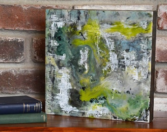 Ebb and Flow - Encaustic Painting, Encaustic Art