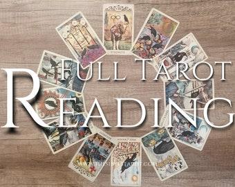 Full Tarot Reading: (Accurate Tarot Reading, Love Reading, Ex, Career Reading, Family, Spiritual, Expert Reader, Tarot Reader, Quality)
