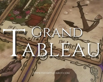 Lenormand Grand Tableau Reading - (Love Reading, Career Reading, Lenormand, GT, Full Reading, Experienced Reader, 24 Hour Reading)