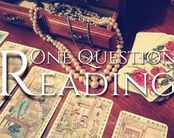 Tarot Reading / Lenormand Reading - One Question. 24 Hour Reading. Love Reading, Ex, Career Reading, Family, Accurate Reading.