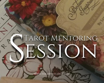 Tarot Mentoring Session - Individual Session. Learn Tarot. 60 Minutes, Teaching Tarot, Tarot Teacher, Learn Tarot.