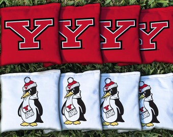 Youngstown State Penguins Cornhole Bag Set