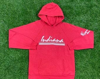 Indiana University Cropped Hoodie\u2014Medium