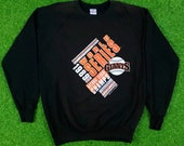 Vintage San Francisco Giants 1989 World Series Anvil Brand NEW Xl MLB Made in USA Comfy Oversized Sweatshirt 80s 1980s California Bonds Nwt