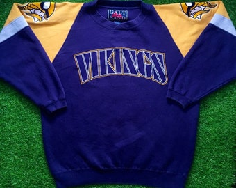 new style d84ea 17b8a Vikings sweater   Etsy
