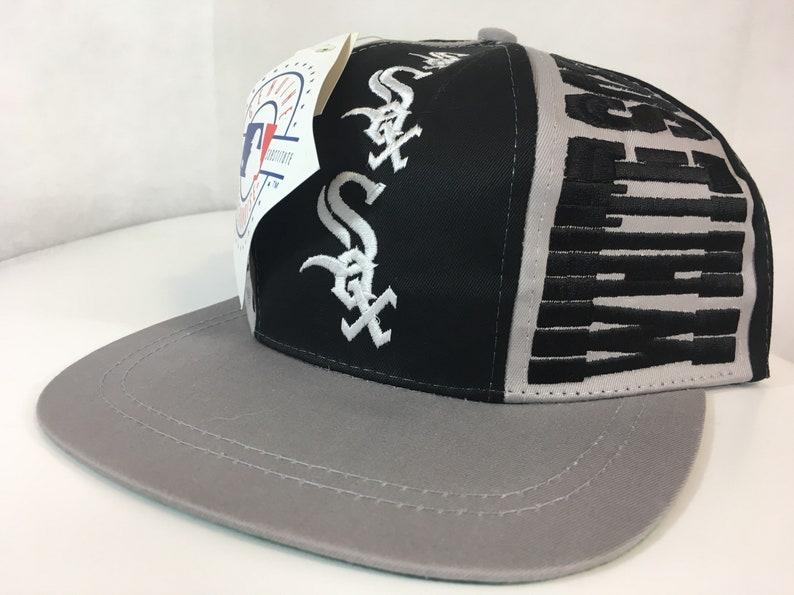 Vintage Chicago White Sox Hat CRAZY Deadstock Snapback  9c6ab65b283