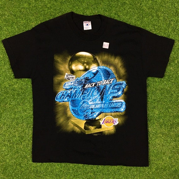 Vintage Los Angeles Lakers Basketball T Shirt Tee