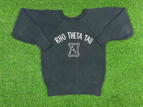 Vintage Rho Theta Tau Fraternity Crewneck Sweatshi