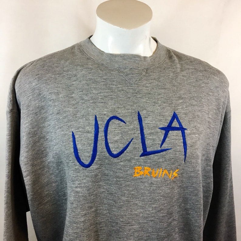save off 24ac7 5a722 Vintage UCLA Bruins Sweater Ncaa Sweatshirt Comfy Cozy Pull Over University  California Los Angeles XL Cali Rose Bowl Pasadena College 1990s