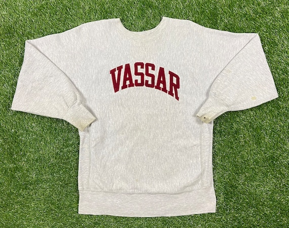 Vintage Vassar College Crewneck Sweater Champion M