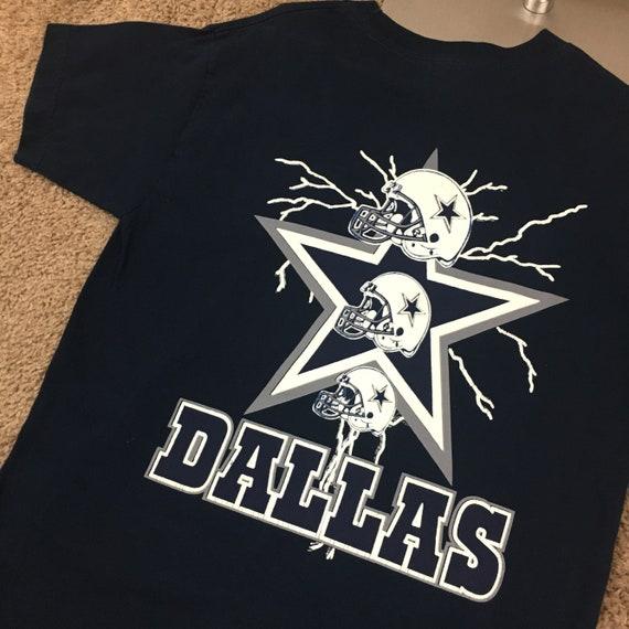 Vintage Dallas Cowboys T Shirt Tee 1990s Beautiful Great  286142ee5