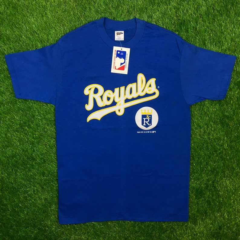 quality design 5d170 7c6c2 Vintage Deadstock Kansas City Royals FREE Shipping Tees T   Etsy