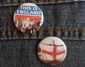 "1.25"" This Is England Pin Badge - This Is England Film Pins - This Is England Movie Badges - This Is England Pinback Buttons"
