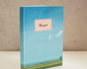 Planner 2018, Undated planner, The Highway, Weekly Planner, Agenda Book, Monthly Calendar, Scheduler, Notebook, Daily planner, Gift idea