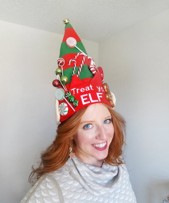 elf hat adult christmas hats adults elf costume for women  6a3f4d4793