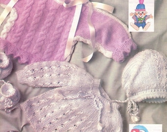 Baby Sweaters in Angora PDF