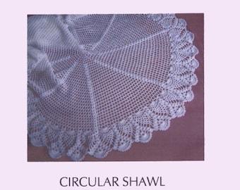 Pdf Crochet Shawl Pattern with Pineapple edge