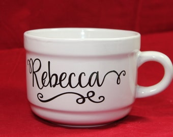 Personalized Coffee Mug, Name Coffee Cup, Personalized Coffee Cup, Custom Coffee Cup, Name Coffee Mug, Name Mug, Gift For Her, Gift For Mom