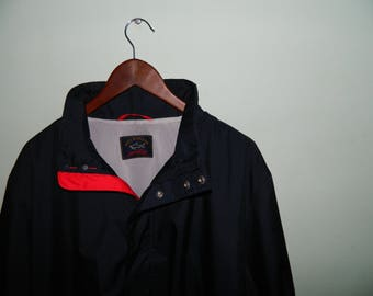 ee4e36b839a Authentic Men s Paul Shark Yachting Nylon Jacket Coat Navy Blue Size L  Casual