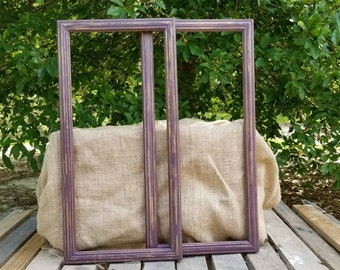 FREE SHIPPING! Empty Photo Frames, picture frames, open frames, wedding decorations, photo props frames, wedding photo props, gallery wall