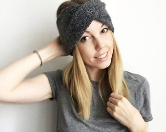 9 Colours! Twisted Knitted Headband - Adelaide  - Womens