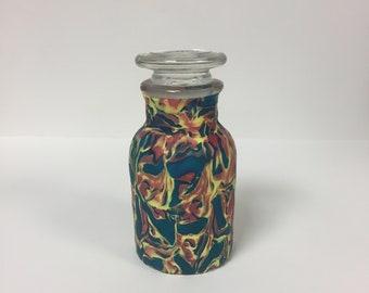Decorative Mini Jar with Glass Lid