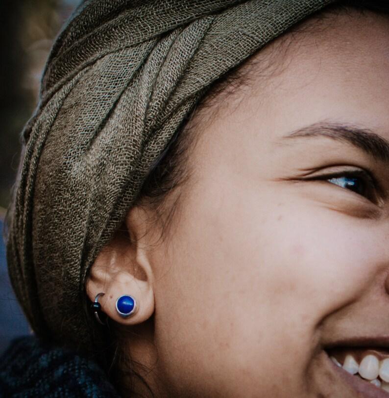 Sunstone ear jackets sunstone studs Daybreaker ear jackets blush studs