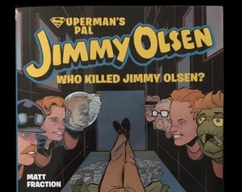 Back in stock! Superman's Pal Jimmy Olsen tpb, signed and sketched. Free USA shipping!