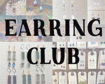 Earring Club [Three Month Subscription, July-September]