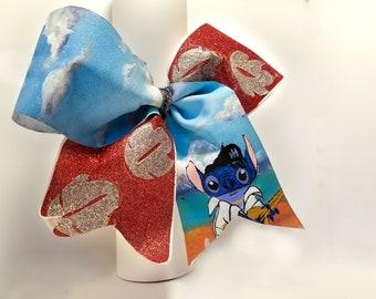 Handpainted/Custom Cheer Bow