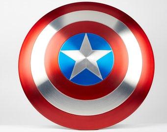 Captain America Shield - Metal Prop Replica - Screen Accurate - 1:1 Scale
