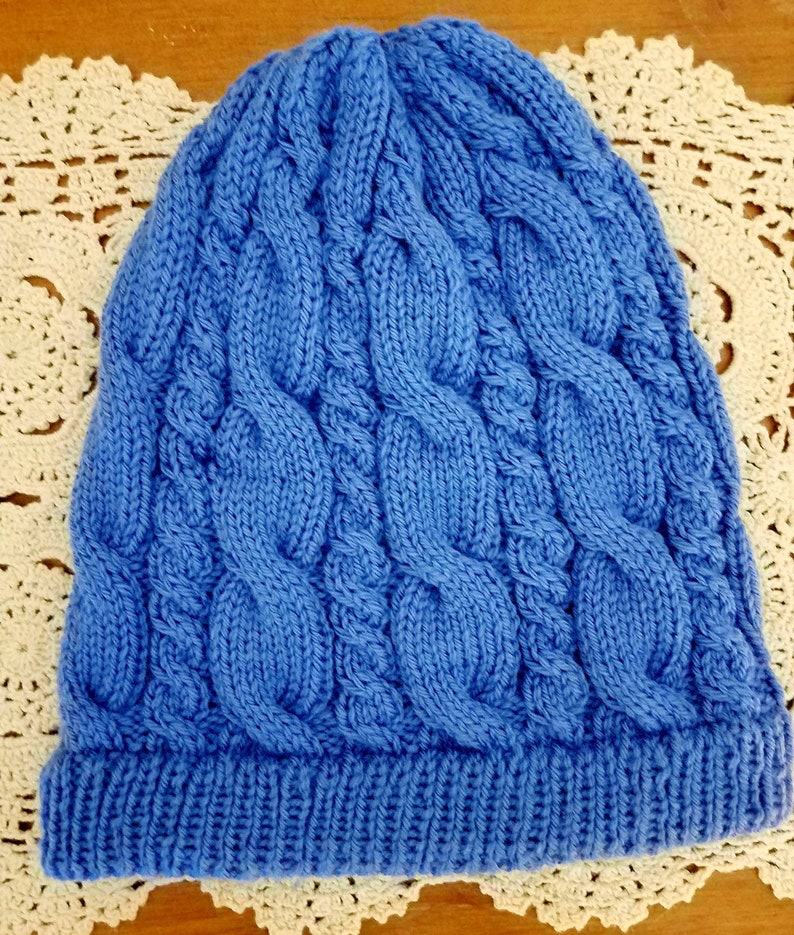 58a171b9db47ac Rory's Hat Gilmore Girls Cabled hat winter hat outer | Etsy