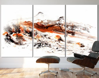 FALL SERIES   #8001, Extra Large Giclee Fine Art Print, Artist-Signed, Contemporary Art, Wall Art, Abstract Art, Acrylic, 48x90- 60x108