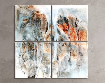 CLIFF SERIES   #6006, Extra Large Abstract Art, Artist-Signed, Giclee Fine Art Print, Wall Art, Nature, Contemporary Art, 60x60- 72x72