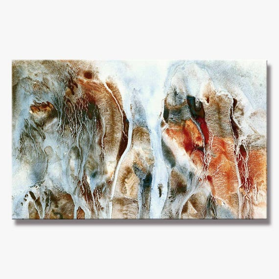Large Stunning Abstract Painting, Artist-Signed, Giclee Fine Art Print, Contemporary, Acrylic, Wall Art, Home Decor,  10x16 - 36x60