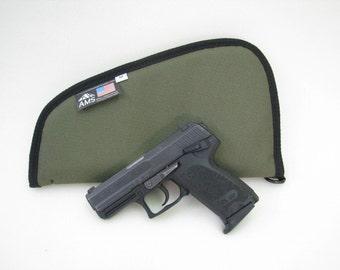 Nylon Pistol Case - Multiple colors and sizes