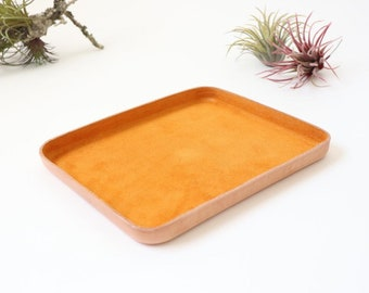 Leather Tray (L)
