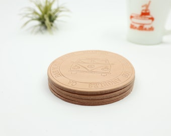 Leather Coaster / Set of 4