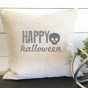 Throw Pillow 18x18 Witch Please  Hello Fall Reversible Autumn Decor Fall Decor Sunbrella Halloween Pillow Pillow Cover