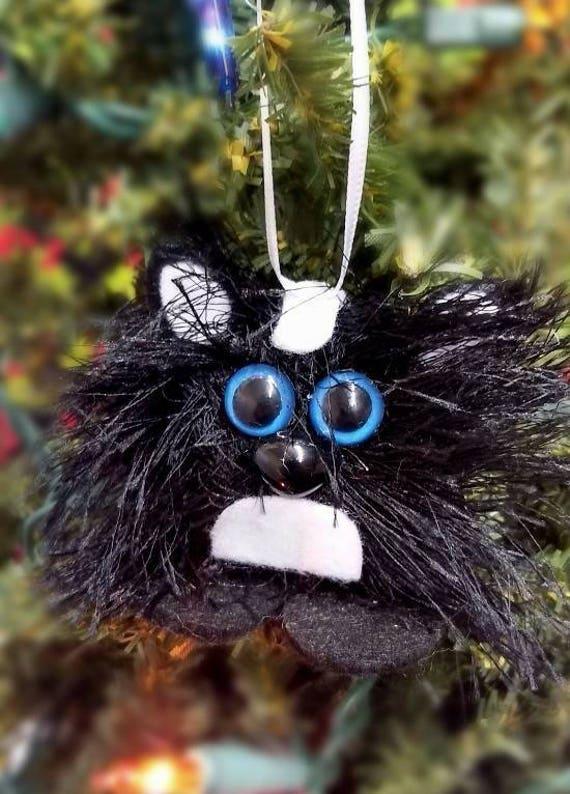 Handmade Felt Skunk Christmas Ornament Felt Christmas | Etsy