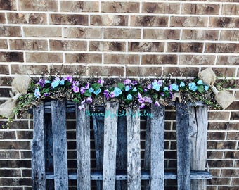 spring garland garland summer garland easter garland winter garland every day garland farmhouse garlandmantle garlandfireplace decor
