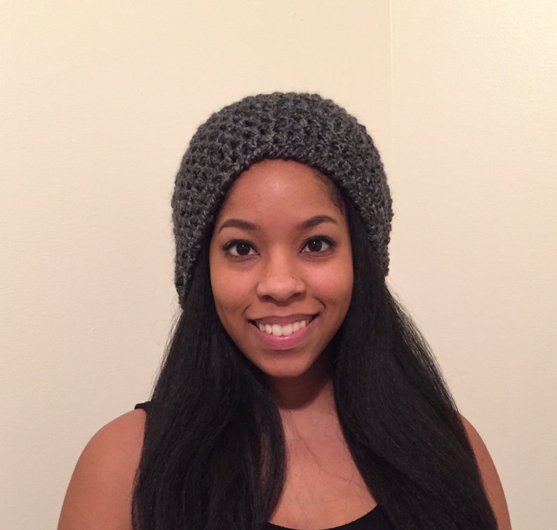 Frizz Free Protective Lined Beanie Hat Great for Natural  5f0820cedd61