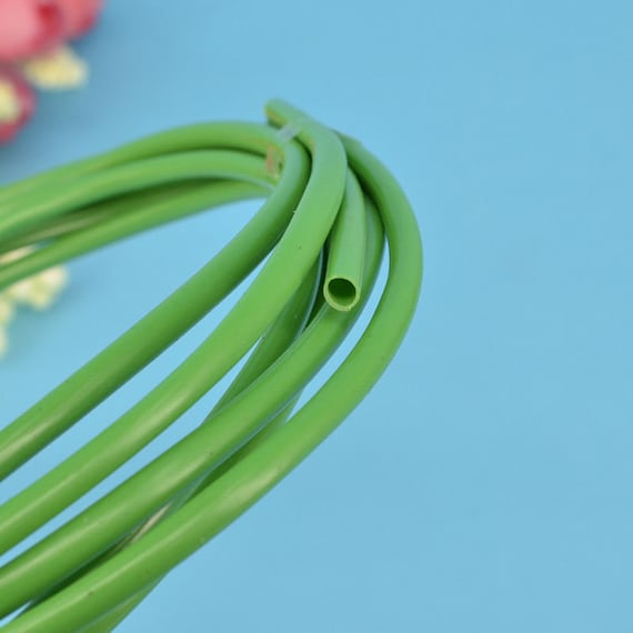 10meters 4mm OD 3mm ID Green Floral Hose Casing Tube for | Etsy